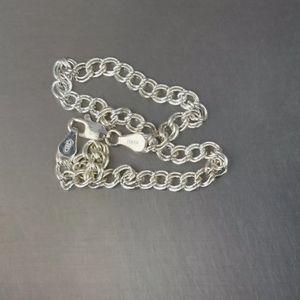 Pick 2 free charms w/ this 925 silver bracelet E20